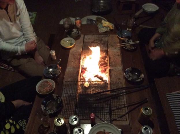 囲炉裏部屋