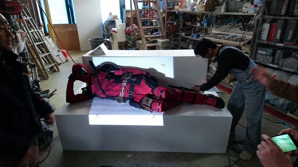 DEAD POOL 3D