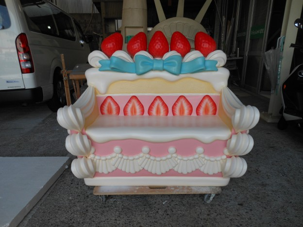 ケーキソファ